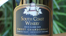 Sweet Chardonnay Label