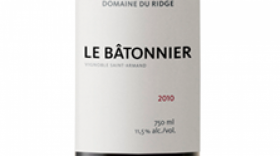 Domaine du Ridge 2010 Le Bâtonnier | Red Wine