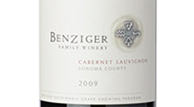 Benziger Family Winery 2009 Cabernet Sauvignon Label