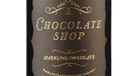 Sparkling Chocolate Red Wine Label