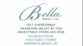 Bella Wines 2017 Chardonnay Ancestrale Brut King Family Farms | White Wine