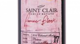 Saint Clair Family Estate Pioneer Block 17 Plateau Cabernet Merlot 2014 | Red Wine
