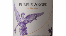 Purple Angel by Montes 2014 Carmenère Label
