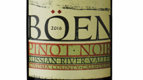 BÖEN 2016 Pinot Noir | Red Wine