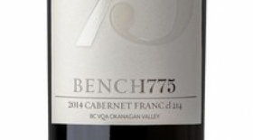 Bench 1775 2014 Cabernet Franc Label