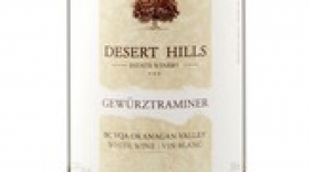 Desert Hills Estate Winery 2017 Gewürztraminer Label