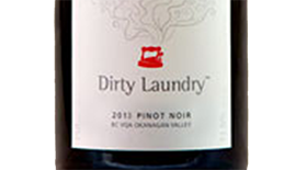 Dirty Laundry Vineyard 2012 Pinot Noir Label