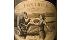 Foxtrot Vineyards 2011 Pinot Noir Label