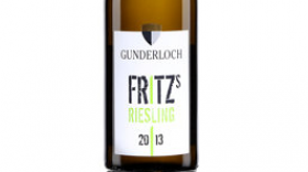 Fritz Riesling 2013 Label