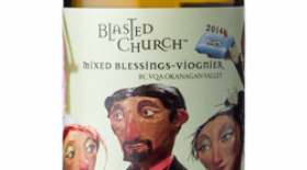 Blasted Church Mixed Blessings 2014 Viognier Label