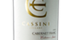 Cassini Cellars 2011 Cabernet Franc Label