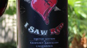 I Saw Red, Cabernet Sauvignon Label