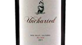 Uncharted Red Wine Label