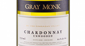 Gray Monk Estate Winery 2017 Chardonnay Unwooded Label