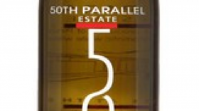 50th Parallel Estate 2016 Pinot Gris Label
