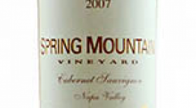 Spring Mountain Vineyard 2007 Cabernet Sauvignon Label