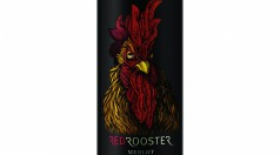 Red Rooster 2015 Merlot Label
