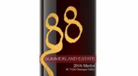 Summerland Estate Winery and B&B 2016 Merlot | Red Wine