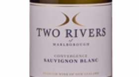Two Rivers of Marlborough Convergence 2016 Sauvignon Blanc Label
