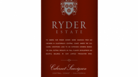 Ryder Estate Wines 2014 Cabernet Sauvignon | Red Wine