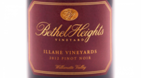 Bethel Heights Illahe Vineyards 2012 Pinot Noir Label