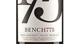 Bench 1775 2012 Cabernet Franc blend Label