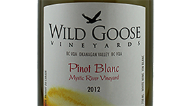 Mystic River Pinot Blanc Label