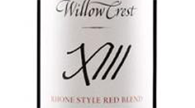 Willowcrest X111 Rhone Style Red Blend Label