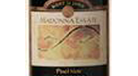 Madonna Estate 2010 Pinot Noir Label