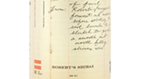 The Formula - Robert's Shiraz Label