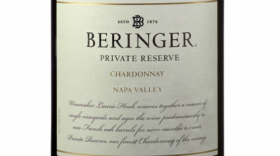 Beringer Private Reserve 2015 Chardonnay Label