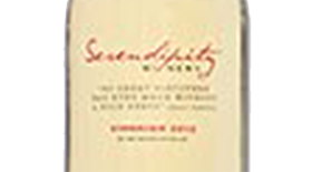 Serendipity Winery 2012 Viognier Label