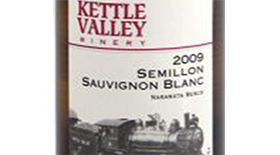Kettle Valley Winery 2010 Sauvignon Blanc blend Label