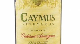 Caymus Vineyards 2015 Cabernet Sauvignon Label