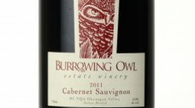 Burrowing Owl Estate Winery 2011 Cabernet Sauvignon Label