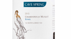 Cave Spring Chardonnay Musqué Estate 2015 Label