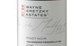 Wayne Gretzky Estates No.99 2012 Pinot Noir Label