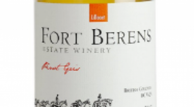Fort Berens Estate Winery 2015 Pinot Gris (Grigio) Label