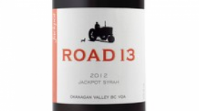 Road 13 Vineyards 2016 Jackpot Syrah Label
