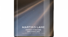 Martin's Lane Winery Fritzi's Vineyard 2014 Riesling | White Wine