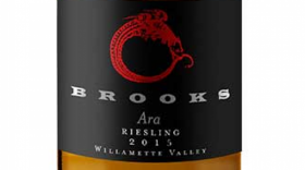 Brooks Ara 2011 Riesling Label