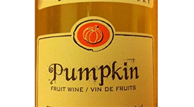 Sleeping Giant Fruit Winery Pumpkin Wine Label