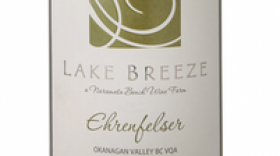 Lake Breeze Vineyards 2015 Ehrenfelser Label