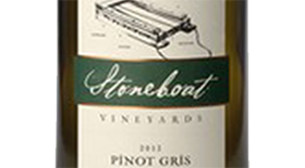 Stoneboat Vineyards & Pinot House 2013 Pinot Gris (Grigio) Label