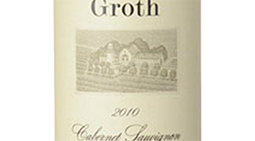 Groth 2010 Cabernet Sauvignon Label