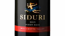 Siduri Wines 2013 Pinot Noir Label