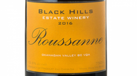 Black Hills Estate Winery 2016 Roussanne | White Wine