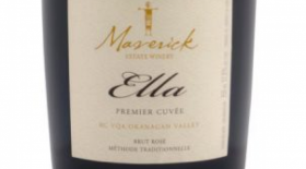 Maverick Estate Winery 2013 Ella (Traditional Methode Sparkling Wine) (NV) Label