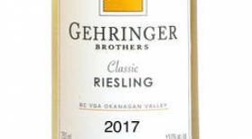 Gehringer Brothers Classic Riesling 2017 Label