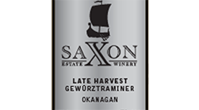 Late Harvest Gewürztraminer Label